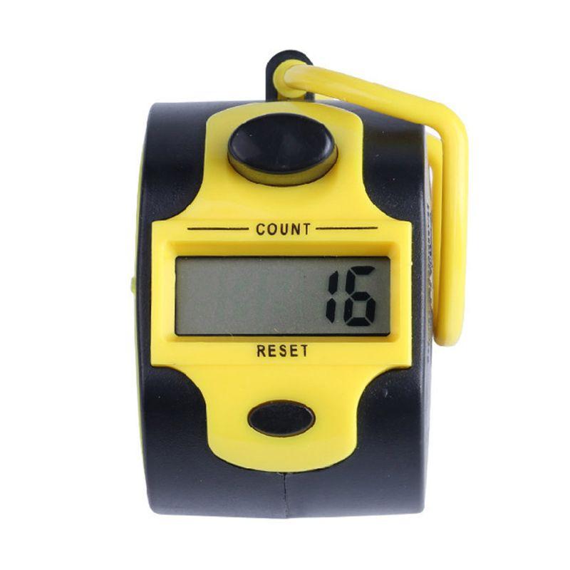 Contador Digital Manual de 5 dígitos con pulsador LED retroiluminado 831F
