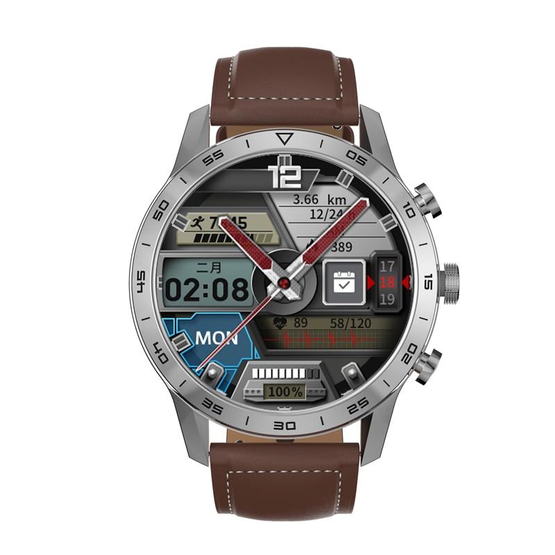 454*454 HD شاشة KK70 ساعة ذكية الرجال بلوتوث دعوة شاحن لاسلكي زر دوار IP68 مقاوم للماء الموسيقى تلعب ECG Smartwatch