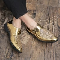 fashion leather shoes handmade leather shoes moccasins wedding party casual men patent for black oxford plus size mens summer
