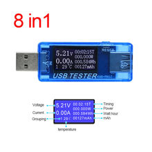 Current Meter DC4-30V KWS-MX17 LCD Digital USB Tester Voltage Detector Supplies
