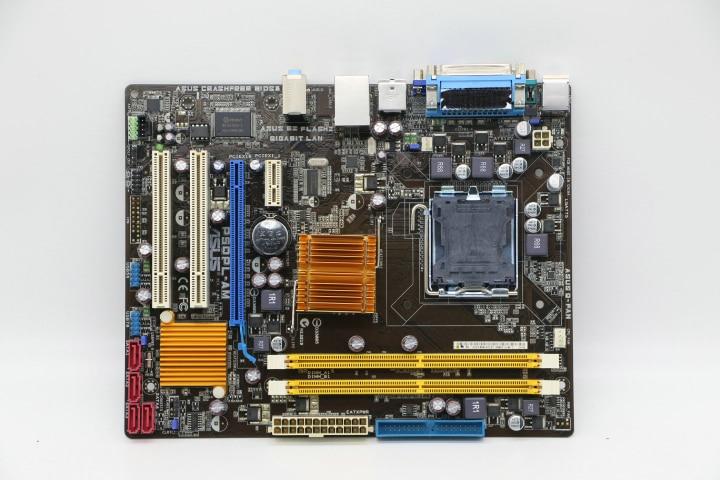 ASUS-placa base P5QPL-AM DDR2/G41 de 775 Pines, VGA COM IDE, compatible con...