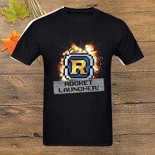 Metal Slug Rocket Launcher T Shirt Unisex homme Plus Size short sleeve Tee Shirt t-shirt  printed tshirt homme cool
