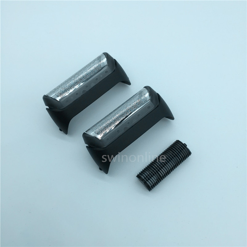 Top Kwaliteit Scheerapparaat 2 10B Folie + 1 Cutter Voor BRAUN 180 190 190S 2876 5728 5729 z20 z30 z40 z50 Scheerapparaat Scheermes Vervanging Rooster