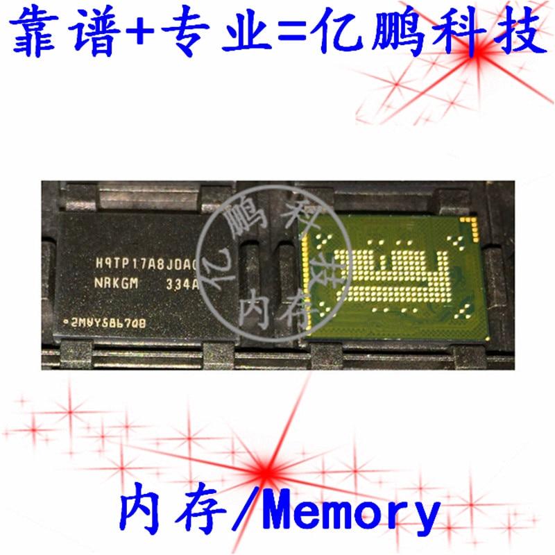 شحن مجاني H9TP17A8JDACNR-KGM BGA186 EMCP 16 8 16GB 10 قطعة