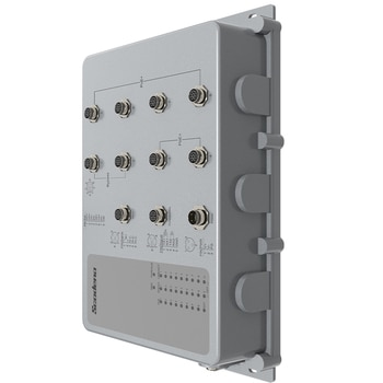 Scodeno IP67 Network Switch for Rainy Hot Dustry Environment Water Proof 8 Port Gigabit
