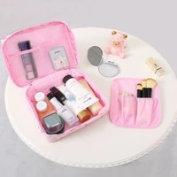 2021 new bag toiletries organize cosmetic bag portable waterproof female travel make up cases