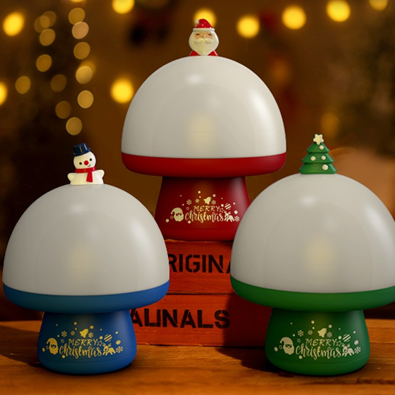 NEW LED Night Light Christmas Projector Lamp USB Light Santa Claus Projection with Music Box Lamps f