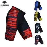 siilenyond cycling shorts coolmax 5d padded shockproof mtb bicycle shorts road bike shorts ropa ciclismo tights for man women