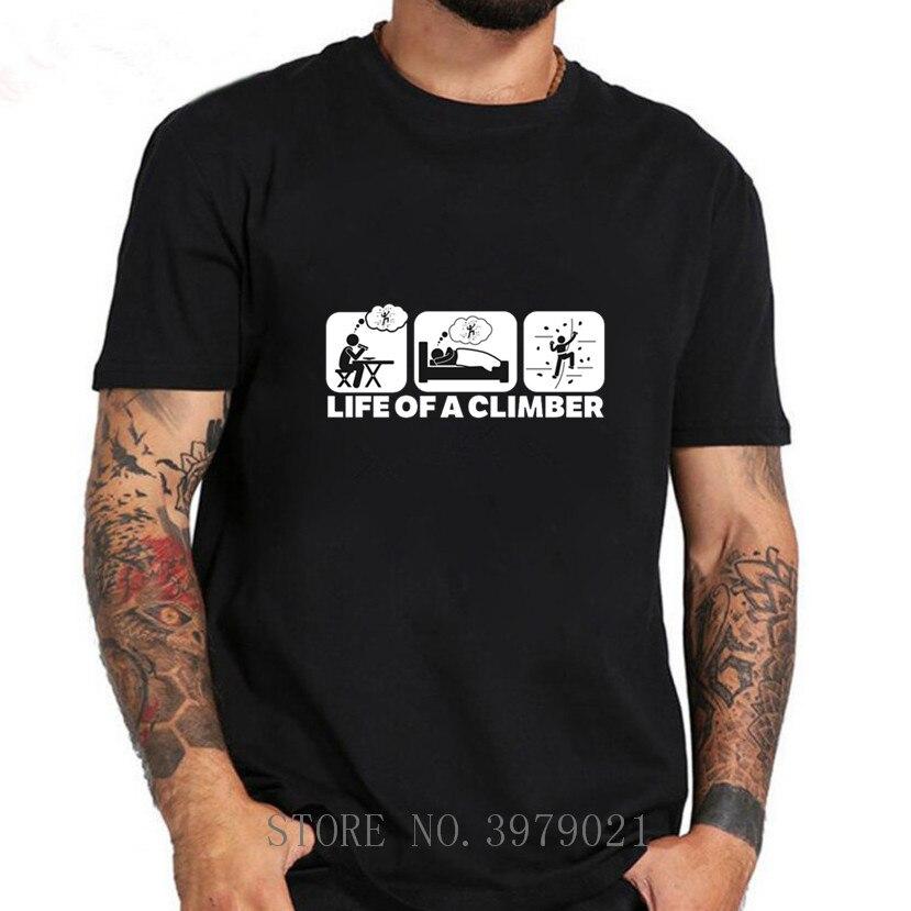 Мужская футболка Eat sleep, летняя футболка с коротким рукавом для альпинизма, 2020