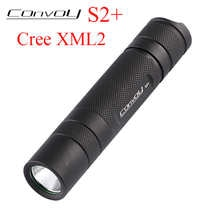Светодиодный фонарь Convoy S2 + Cree XML2 U2 T6, фонарь для палатки, светодиодный фонарь 18650, ручная вспышка, тактическая лампа, велосипедный фонарь
