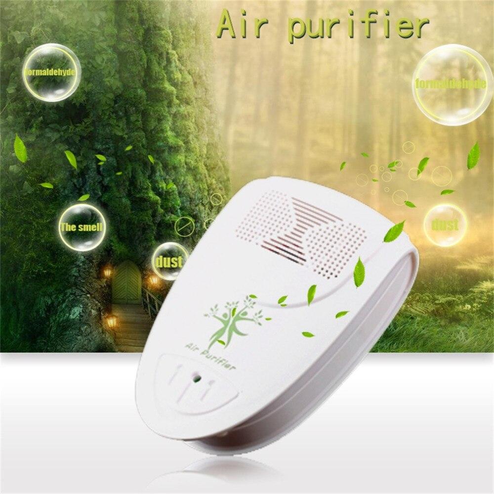 Nouveau Mini intérieur barre doxygène ioniseur Air frais purificateur maison mur 110/220V avec adaptateur maison Autocar négatif Ion purificateur nous Plug