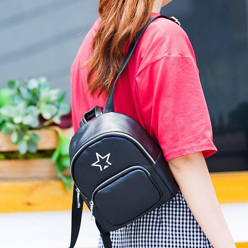 حقيبة كتف جلدية للنساء ، حقيبة كتف ، عصرية ، lykj-yxy ، مجموعة جديدة 2019