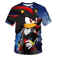 new fashion anime hip 3d printing family mens and womens parent child t shirts factory direct sales clothing childrens shirts