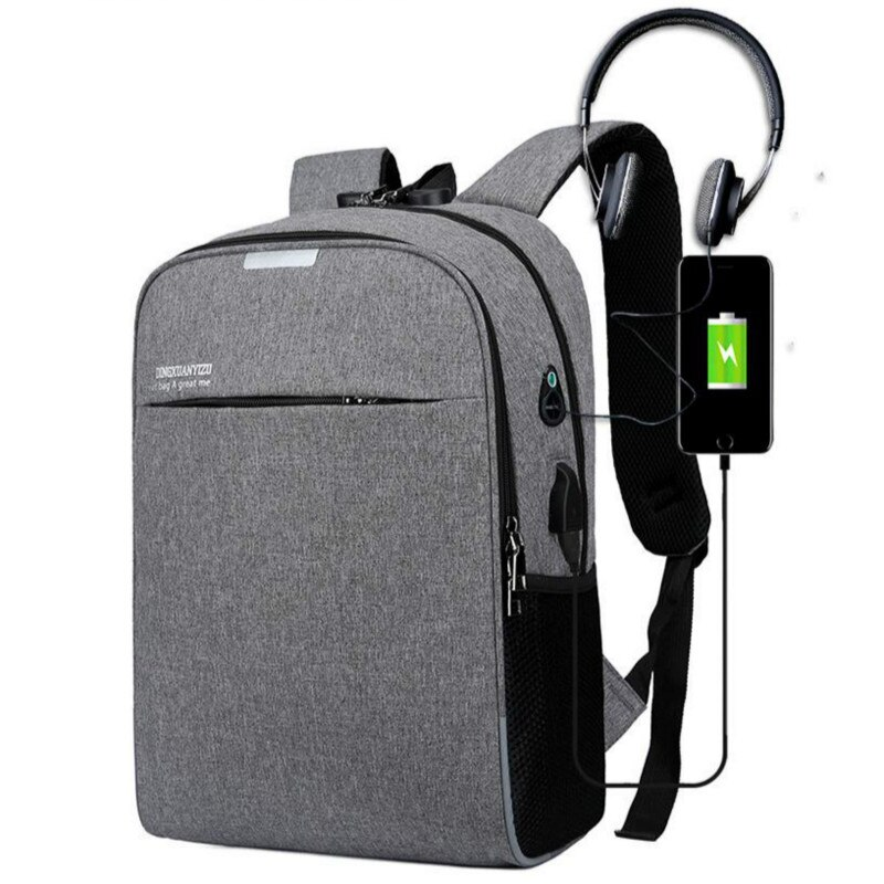 Gran capacidad anti-robo contraseña cerradura hombres mochila impermeable moda laptop mochila al aire libre negocios bolso de hombro