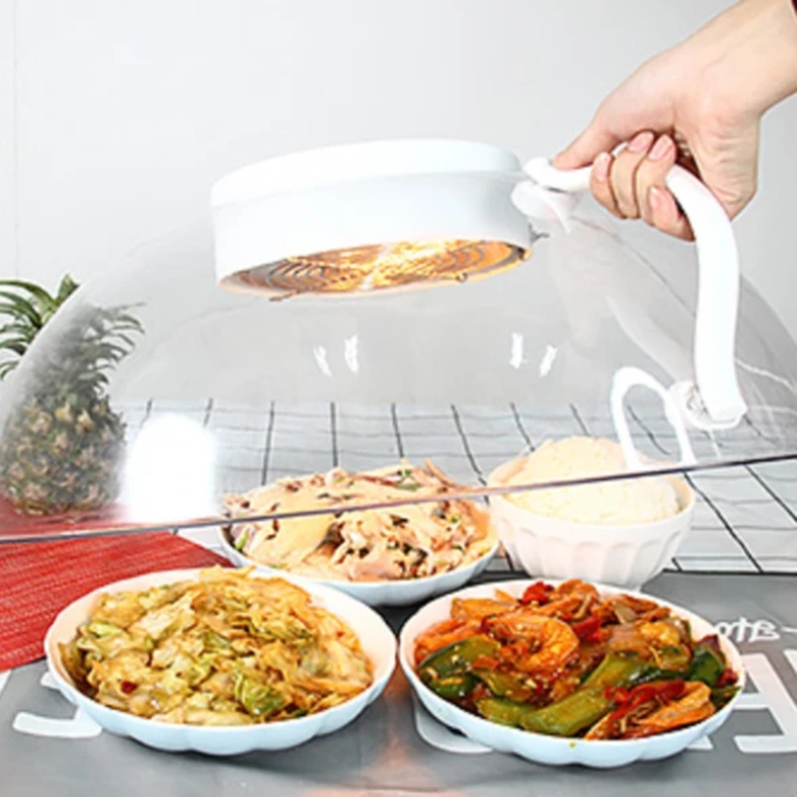 Heating Sealing Cover for Food Meal Intelligent Smart Electric Heating Food Insulation Cover Multi-Function DAG-ship