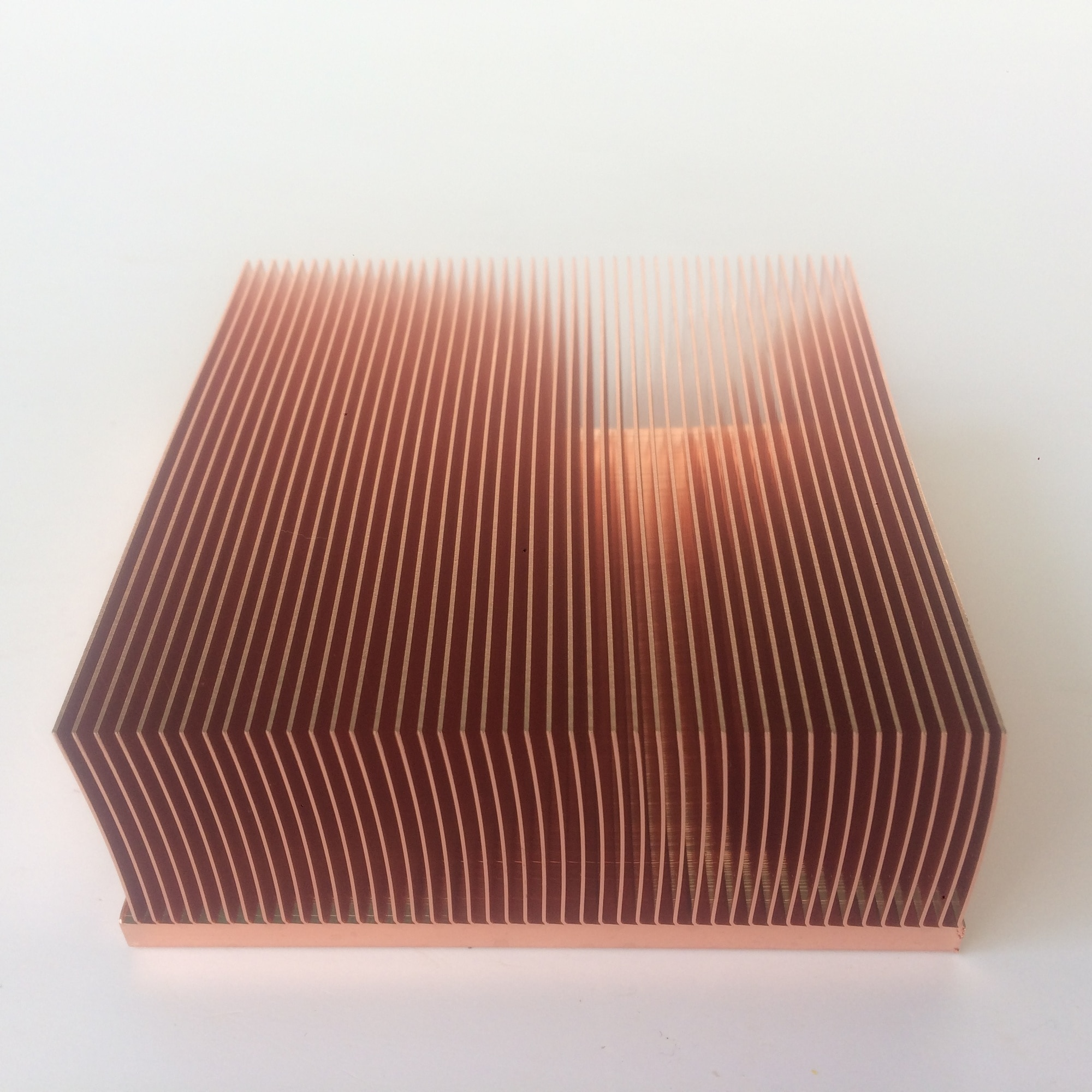 100x100x40mm High-power computer heat sink Power electronic radiator Machine radiator enlarge