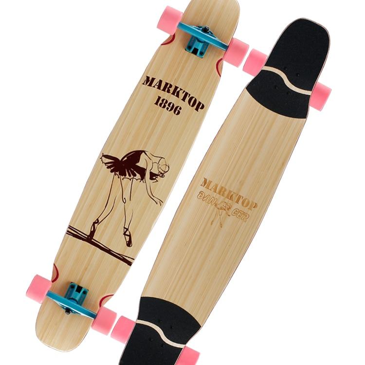 Adolescent Skateboard Profesional Wooden Flat Plate Skateboard Longest for Girls Planche De Skate Sports Entertainment EI50SA