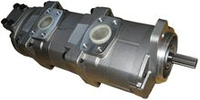 Pompe à engrenages hydraulique Holdwell 705-55-23040 pour Komatsu