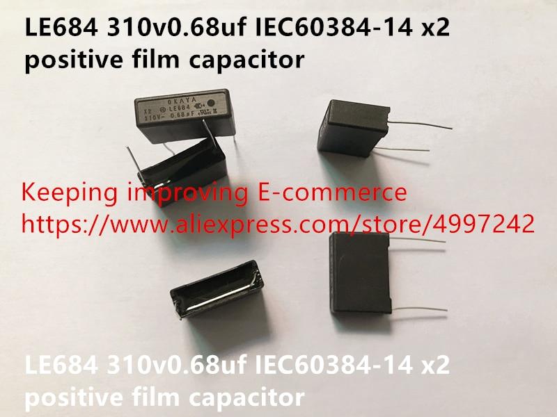Original new 100% LE684 310v0.68uf IEC60384-14 x2  positive film capacitance (Inductor)