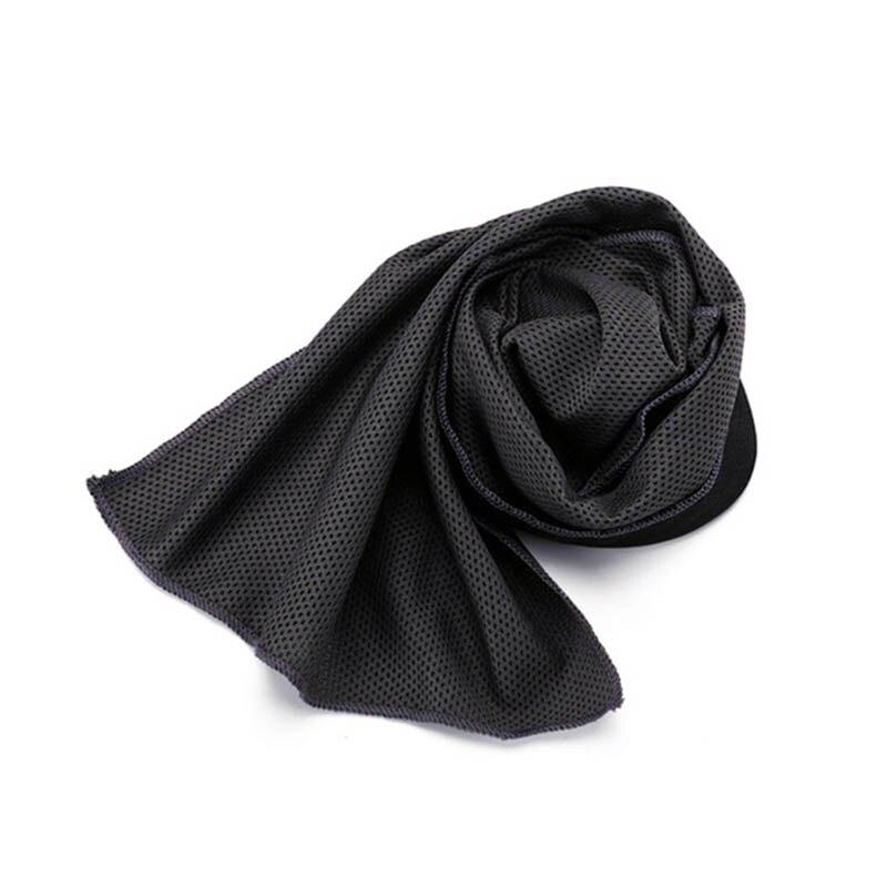 SEWS-Toalla helada deportivo en lata 90X30Cm utilidad duradera enfriamiento instantáneo cara toalla alivio del calor reutilizable enfriar fresco toalla forma física deporte