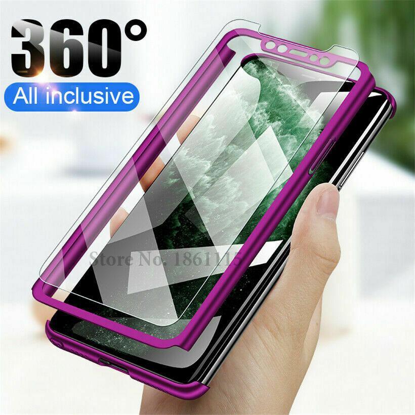 360 Full Protective Cover For Xiaomi 9 SE 8 Lite 5X 6X Pocophone F1 Cases For Redmi Note 8 7 6 5 Pro 4 4X 5A 5 Plus 6A 6 Pro S2