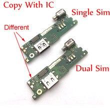 Port de charge USB câble flexible pour Sony Xperia XA1 G3121 G3112 G3125 G3116 G3123 USB chargeur connecteur carte avec vibrateur