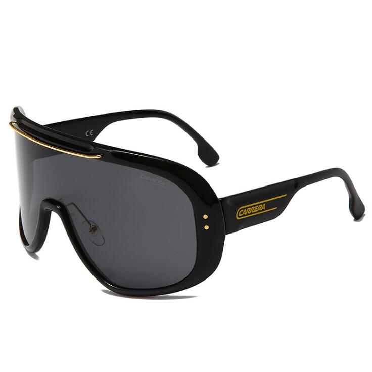 Новинка 2021, модные мужские солнцезащитные очки, поляризационные солнцезащитные очки, мужские классические дизайнерские зеркальные модные ...