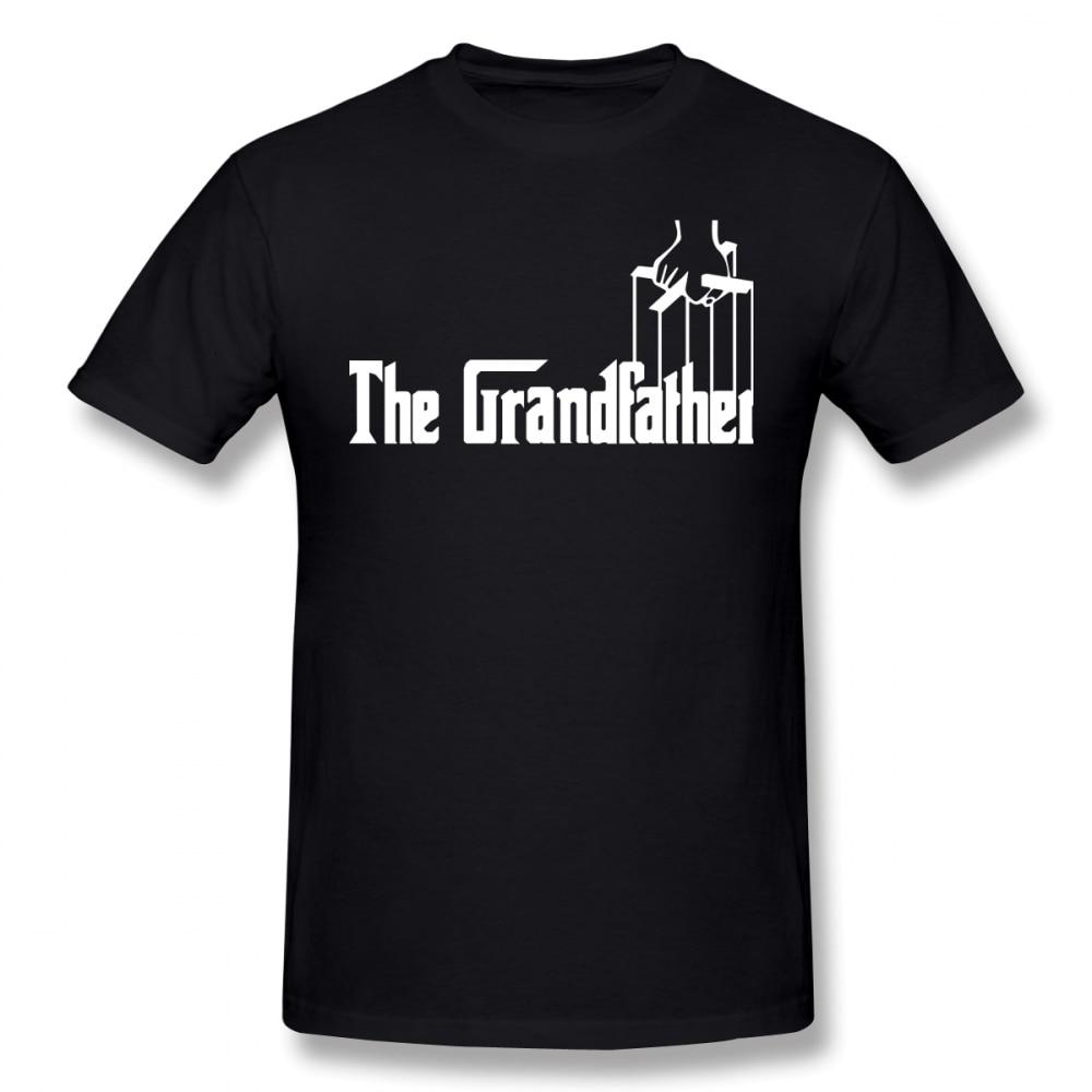 one yona Godfather T Shirt The Grandfather T-Shirt Oversize Printed Tee Shirt 100% Cotton Short-Sleeve Beach Men Cute Tshirt
