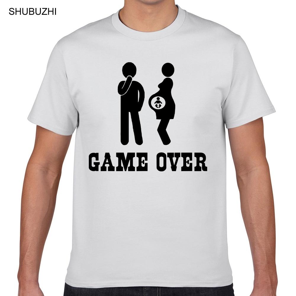 Топы, футболки для мужчин, для беременных, забавная белая мужская футболка с принтом, хлопковая футболка, мужская летняя модная футболка, ев...