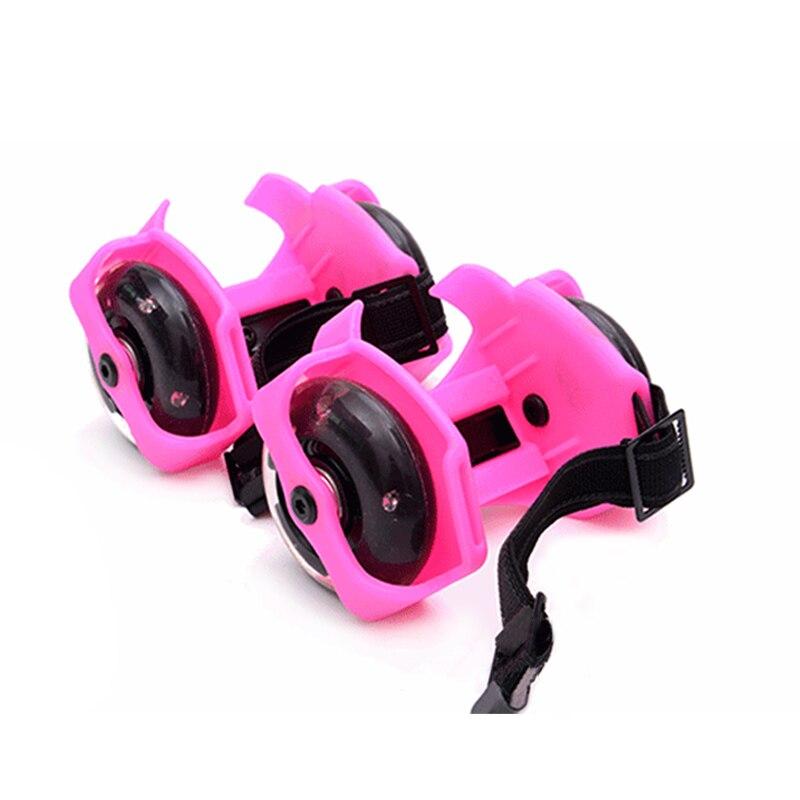 1 par de zapatos de patinaje sobre ruedas destellantes EDF88