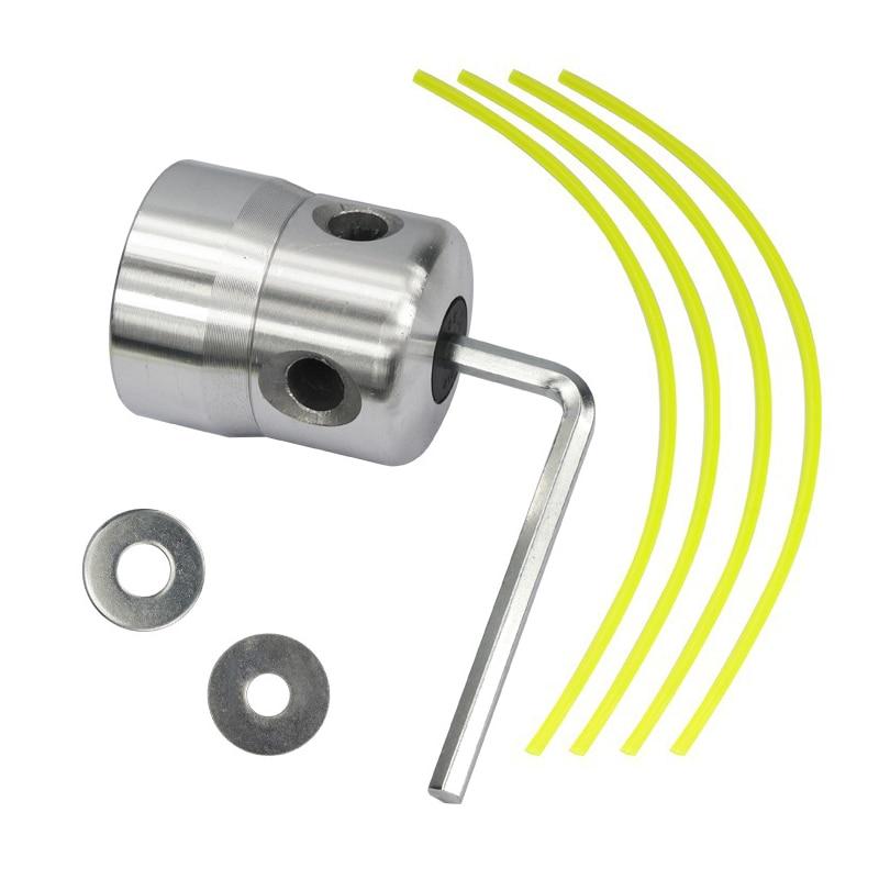 Aliuminio žoliapjovės galvutė su 4 linijomis, žoliapjovės - Sodo įrankiai - Nuotrauka 5