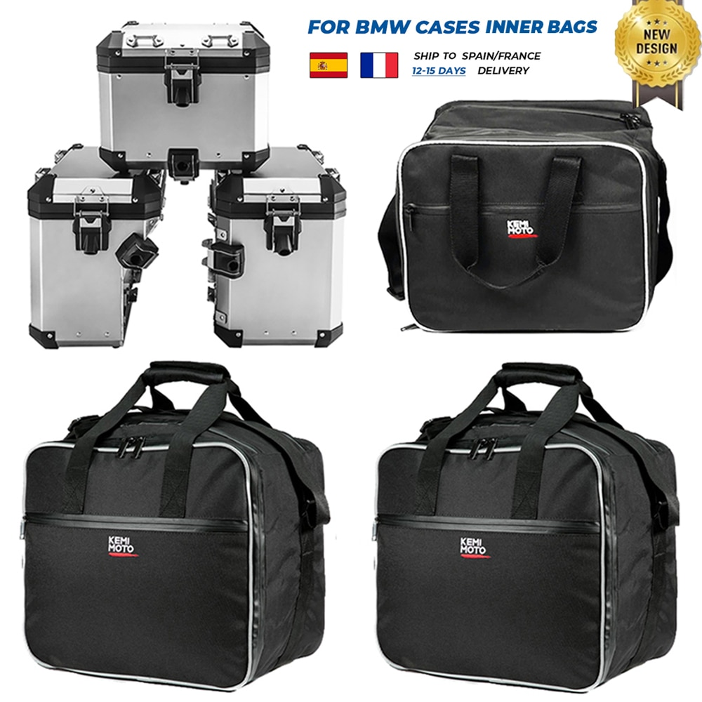 aliexpress.com - Motorcycle Luggage Bags for BMW R1200GS Adv Black Inner Bags R 1200 GS adventure WATER-COOLED 2013-2017