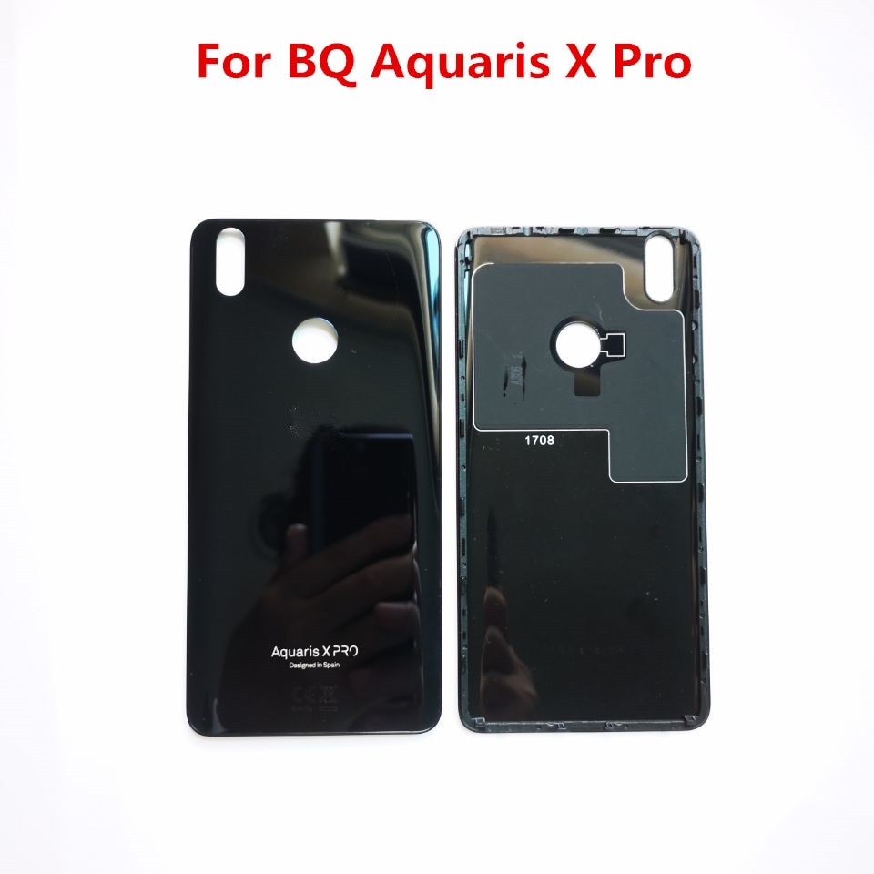 Original Black For BQ Aquaris X Pro Case Battery Hard Shell Protective Back Cover For BQ Aquaris X P