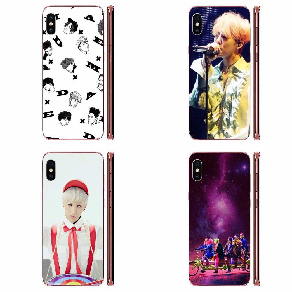 Gd G Dragon Bigbang TPU Print Case For Galaxy Grand A3 A5 A7 A8 A9 A9S On5 On7 Plus Pro Star 2015 2016 2017 2018