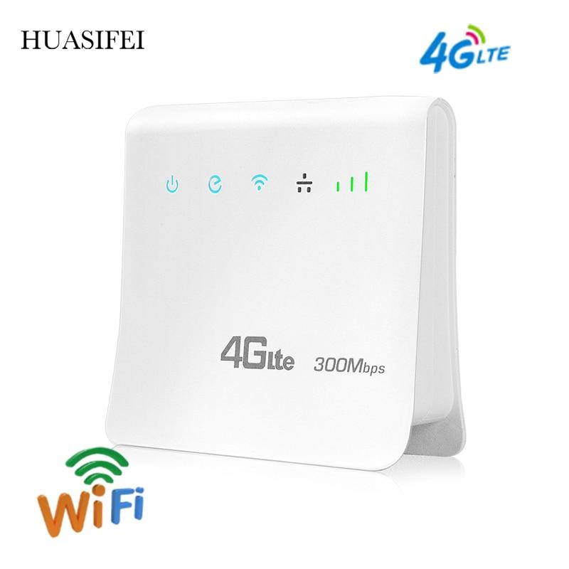 Разблокированный роутер 300 Мбит/с, 4g sim-карта, 4g Wi-Fi роутер, 4G LTE CPE мобильный роутер, портативный 4g Wi-Fi роутер с поддержкой порта LAN/WAN