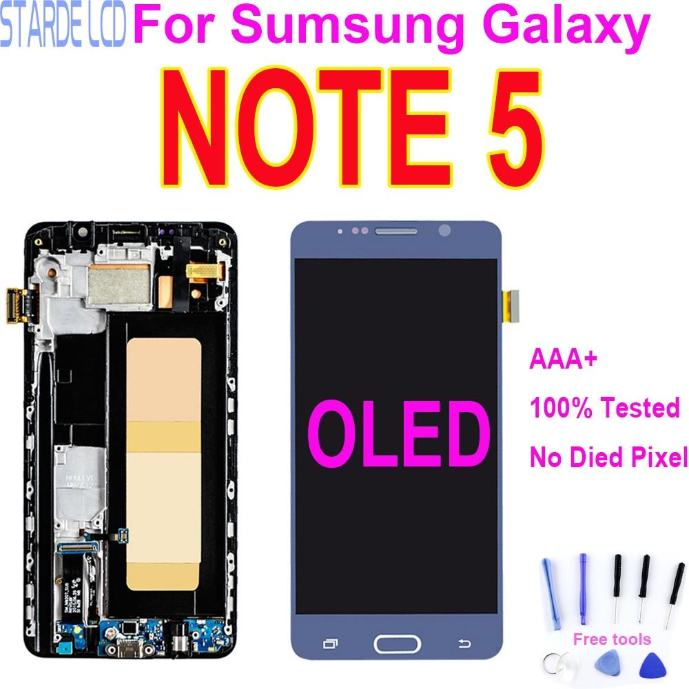5.7 display display display lcd para samsung galaxy note 5 n920 n920f n920a n920v n920c tela de toque digitador assembléia substituição dropshipping
