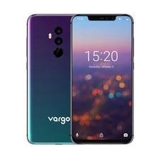 Vargo VX4 MT6763 Octa Core Andorid 8.1 4G LTE téléphone portable 6GB RAM 128GB ROM 6.2 pouces 3550mAh Face ID 16.0MP smartphone