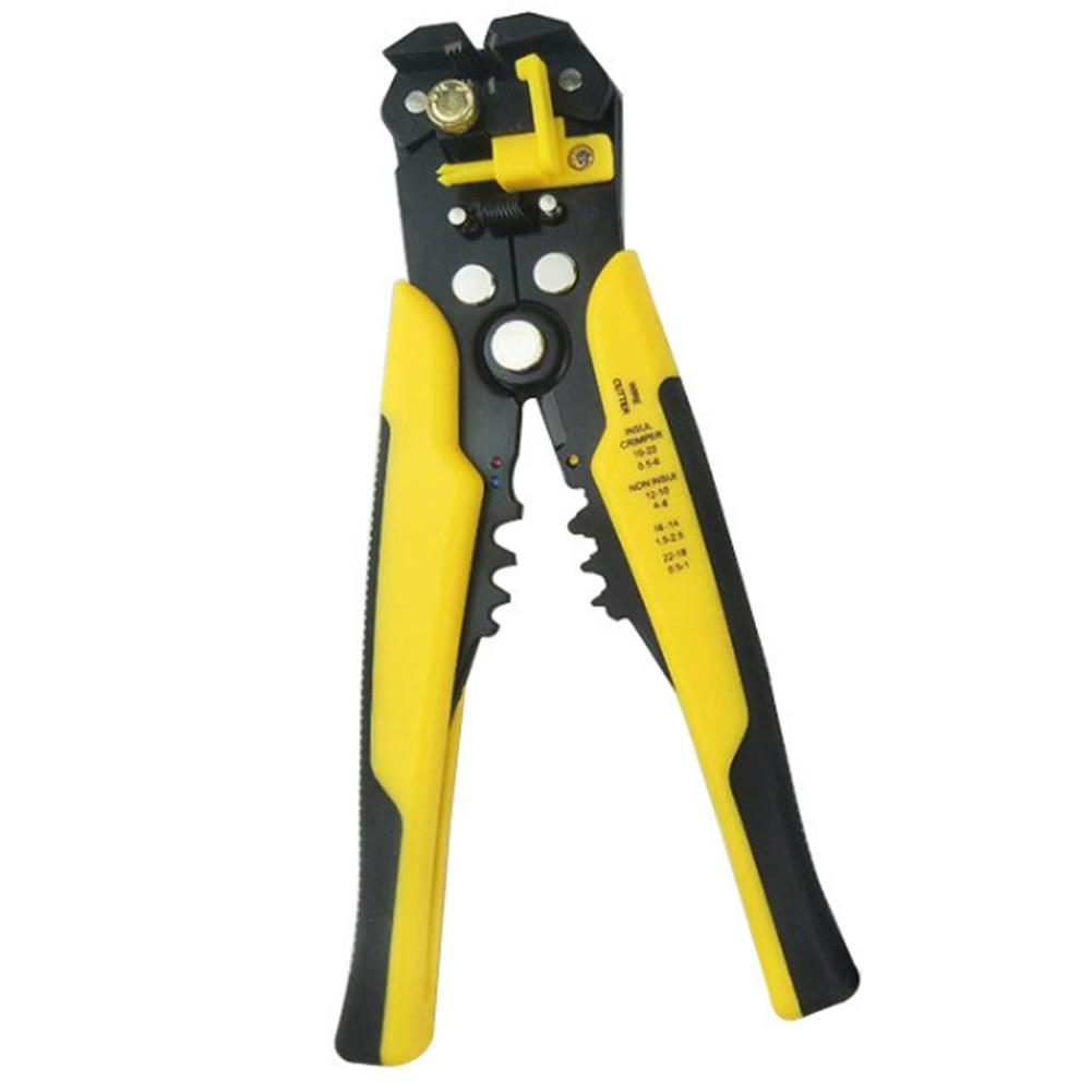 5 In 1 Zelfinstellende Isolatie Wire Stripper Cutter Crimper Kabel Strippen Gereedschap Tsh Winkel