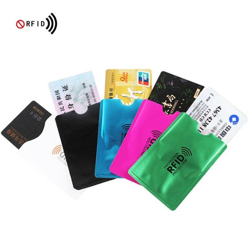 Billetera de Anti Rfid para hombre, tarjetero para tarjetas bancarias, protección de...