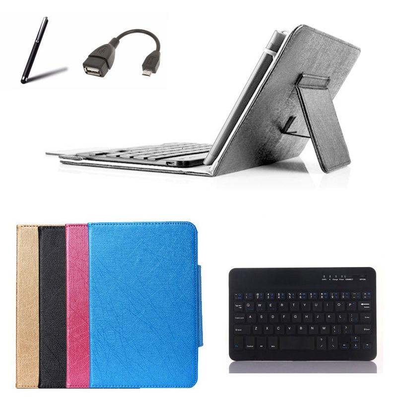 Capa de teclado sem fio para hp slate 7 beats edição especial tablet caso teclado bluetooth + otg stylus