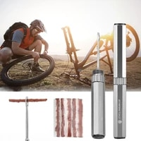 bicycle tubeless tire repair tool tyre drill puncture for urgent glue free repair optional rubber stripe