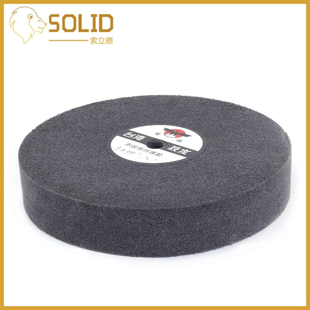 150mm Nylon Fiber Wheel Disc Polishing Buffing Buffer Pad Grinding Disc Wheel Abrasive Tool Bore 16mm