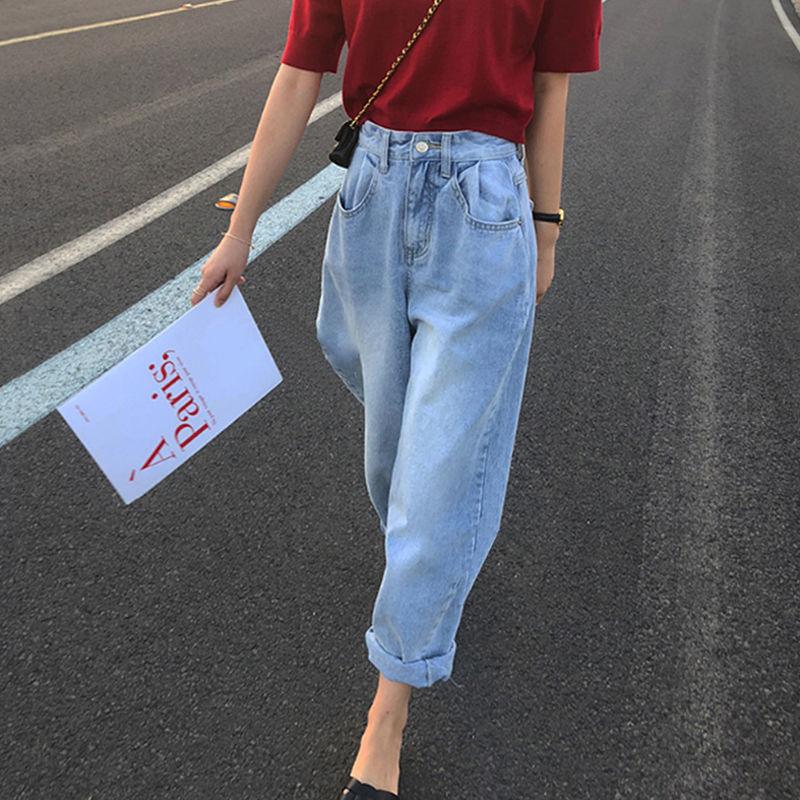 Джинсы Mom женские с завышенной талией, джинсовые шаровары, брюки женские, уличная одежда, широкие брюки y2k, свободные джинсы, объемные джинсы