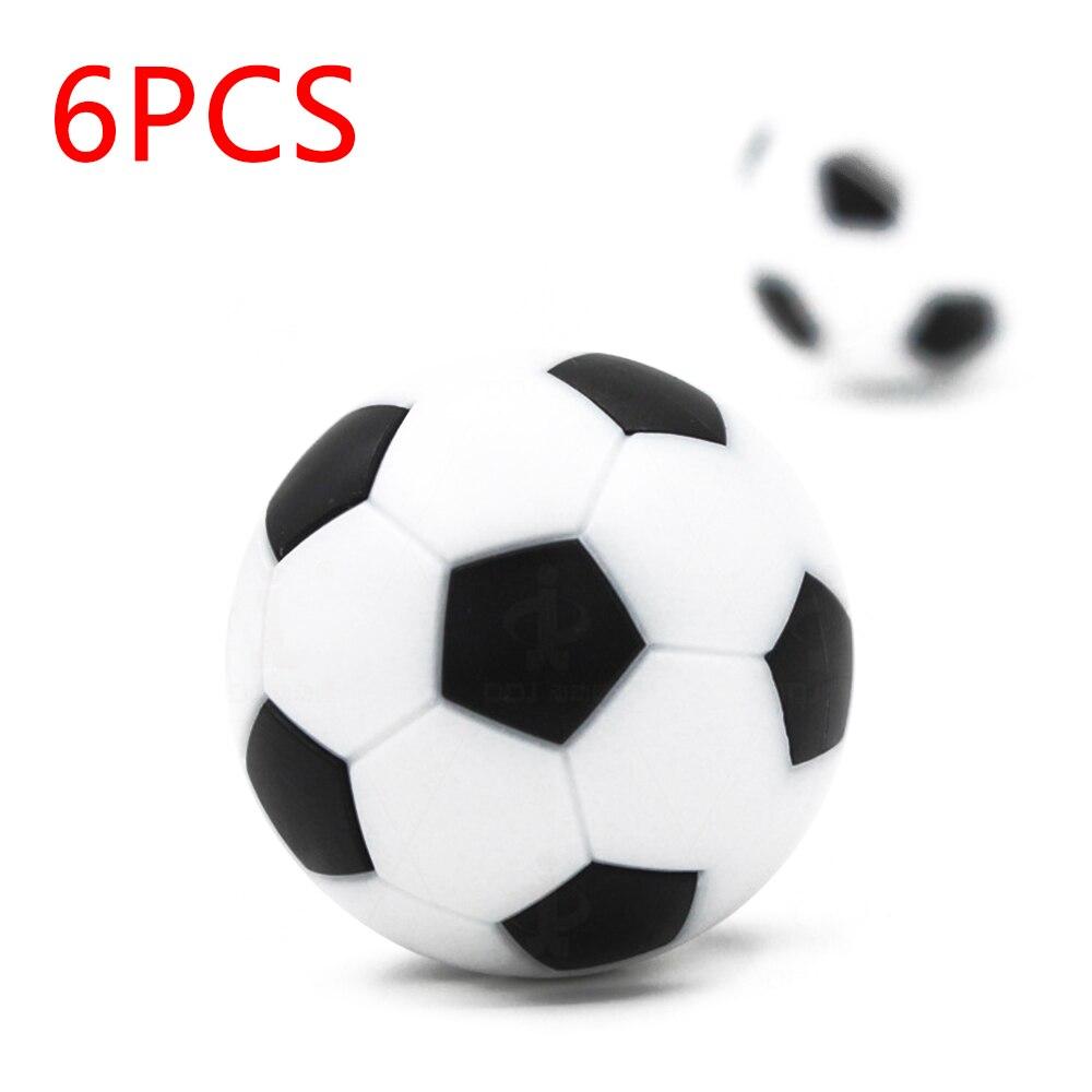 6/12x36mm de interior Mini fútbol Futbolín de mesa pelota de futbol Soccer fiesta divertido