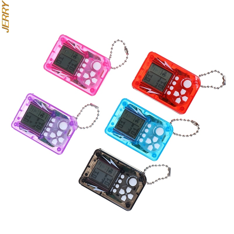 New Product Mini Classic Game Console, Children's Hand-held Retro Nostalgic Game Console, With Keychain Tetris Video Game