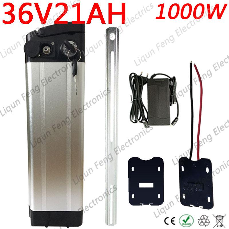 36V 1000W 500W Ebike Batterie 36V 20AH Lithium-Batterie 36V 10AH 13AH 15AH 18AH Elektrische fahrrad Batterie Mit 2A Ladegerät Freies Duty