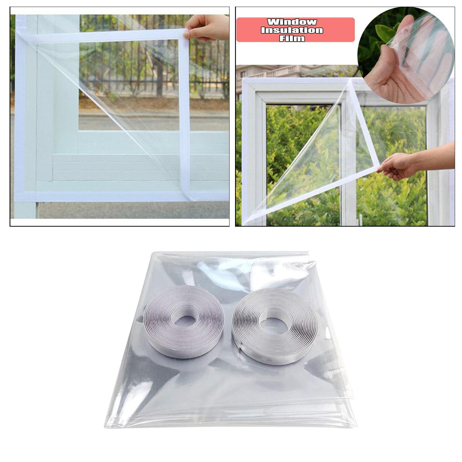 Теплоизоляционная ветрозащитная оконная пленка, декоративная самоклеящаяся пленка, наклейка, Энергосберегающая пленка-занавеска