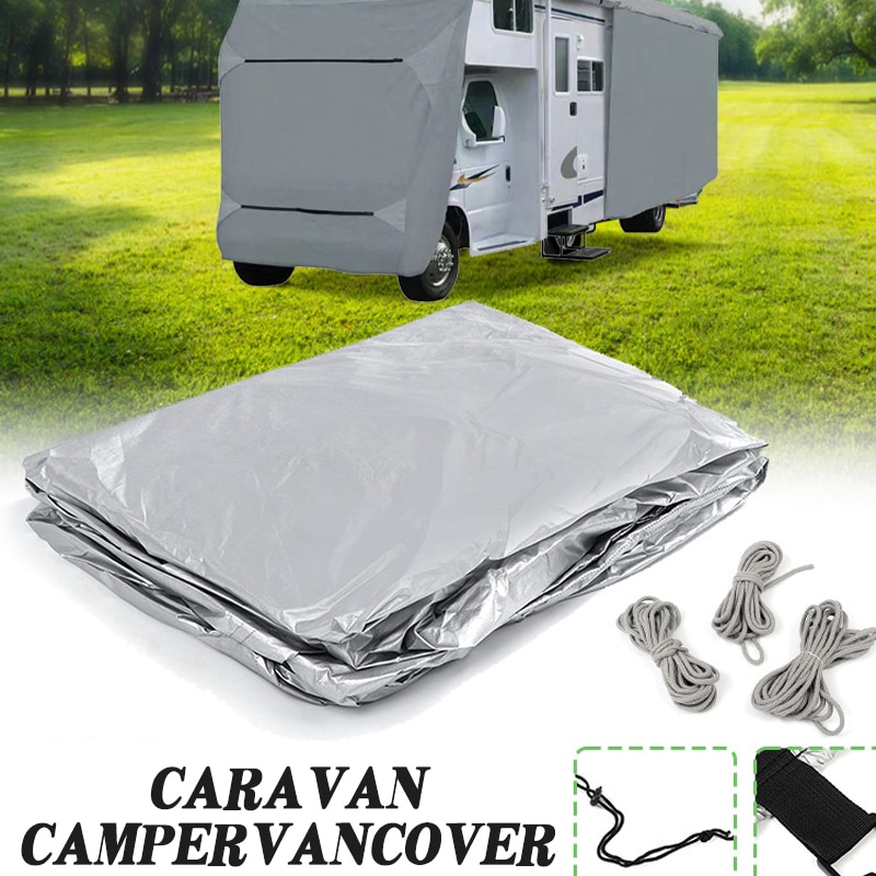 Car Cover Waterproof Holvwow Weatherproof Tailored travel trailer cover Caravan Cover RV Car cover