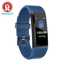 SHAOLIN Smart Wristband Blood Pressure Smart Watches Fitness Tracker Heart Rate Monitor Smart Band A