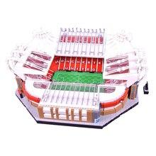 10272 Old Trafford Manchester 3908PCS Creator City Street View Model Building Kits Blocks Bricks Toys Kids Gift 10202